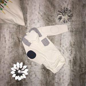 H&M Collar Onesie Baby Size 2-4M